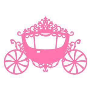 svg file princess carriage cameo silhouette pinterest rh pinterest com au princess carriage clipart black and white princess carriage clipart free