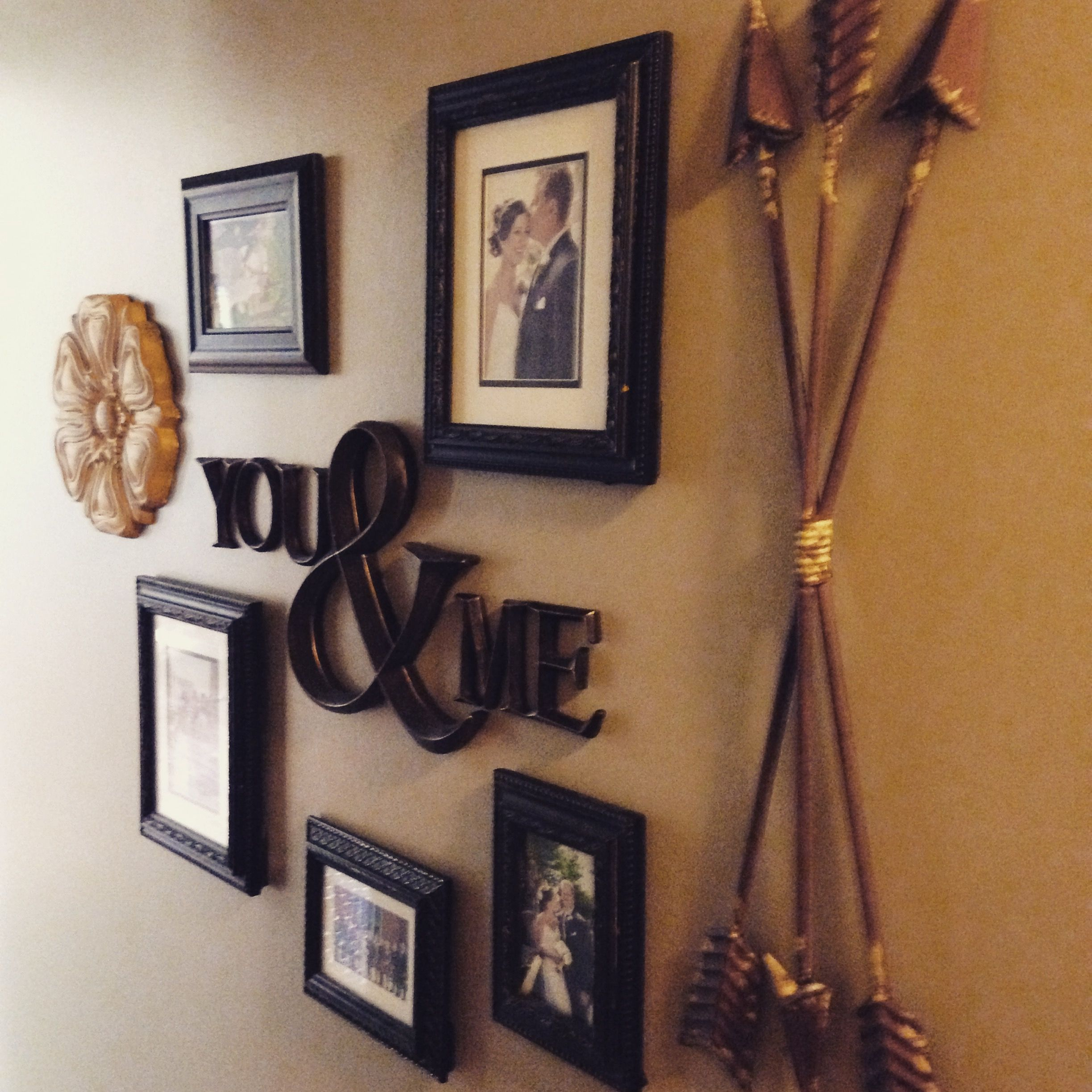 Gallery wall, accents from hobby lobby | Gallery wall ... on Sconces Wall Decor Hobby Lobby id=25316