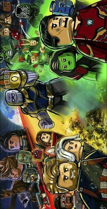 The Avengers Infinity War Lego Poster Lego Poster Lego Wallpaper Lego Marvel