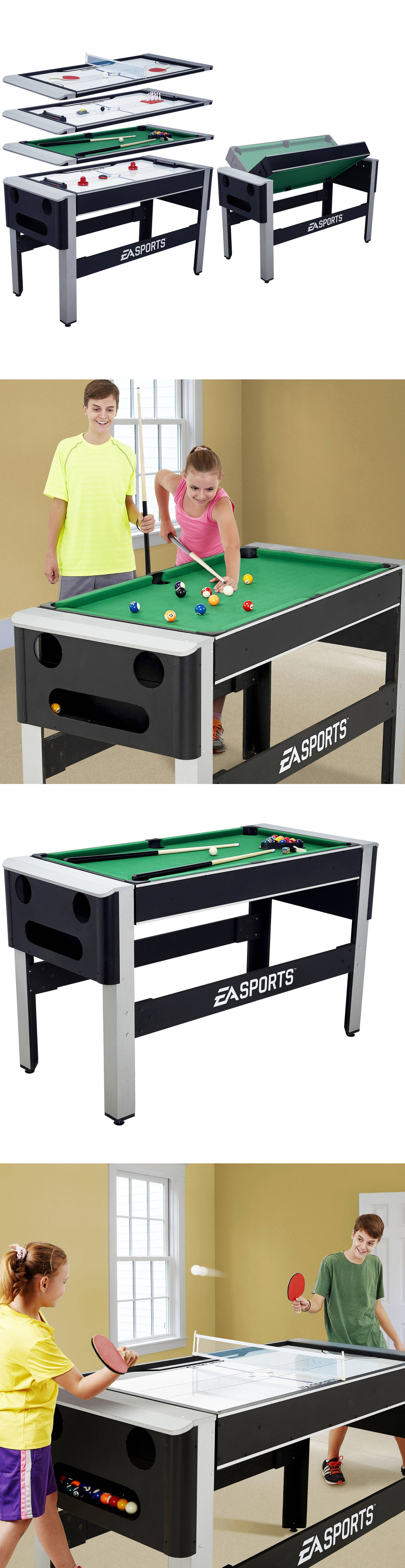 Other Indoor Games 36278: 54 Inch 4 In 1 Swivel Combo Table:
