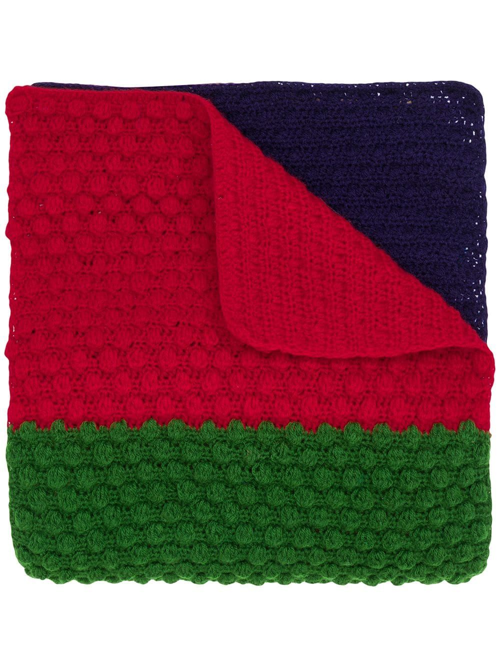 Photo of Paul Smith chunky knit scarf – Green