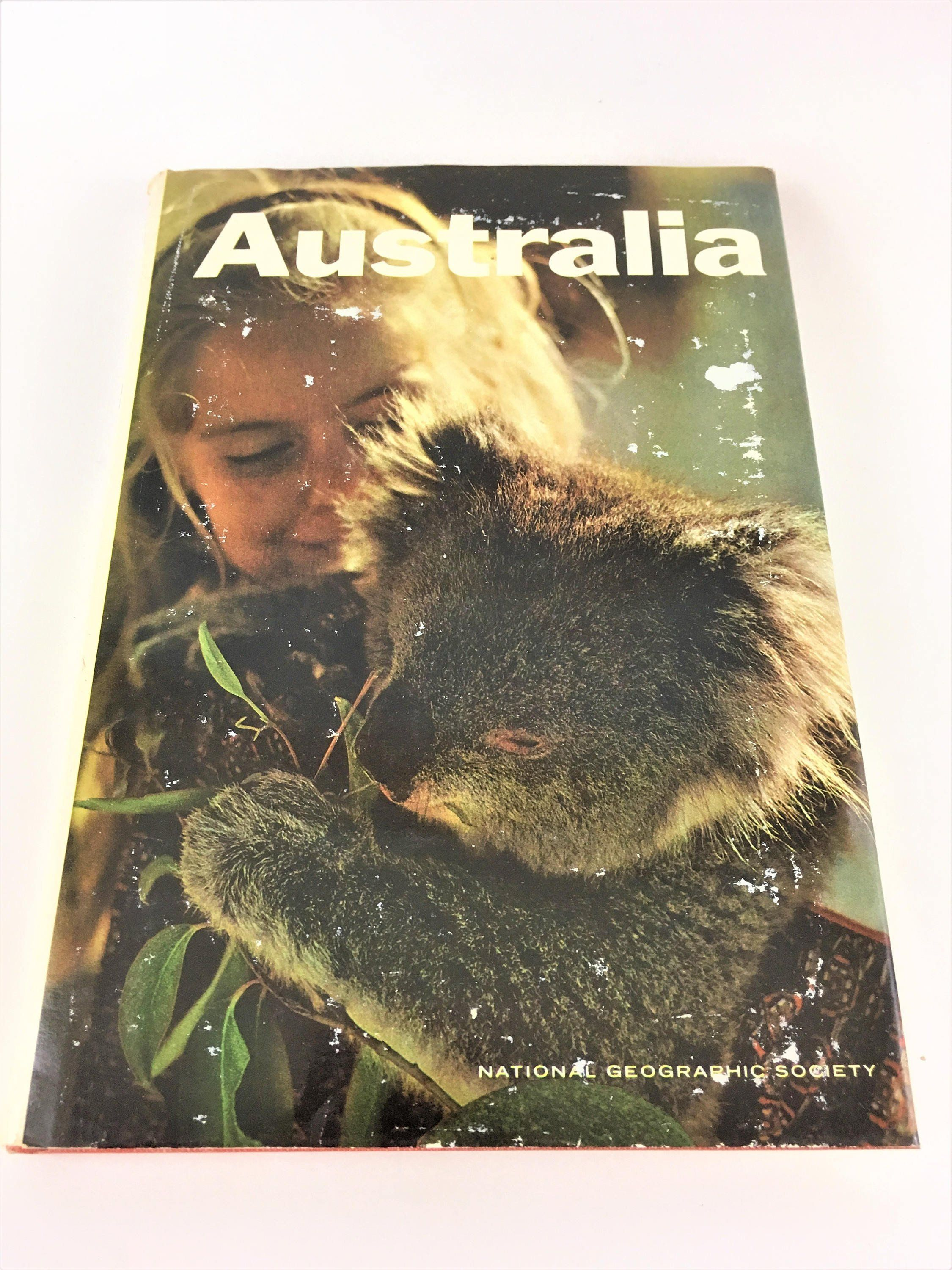 National Geographic Society Australia Coffee Table Book
