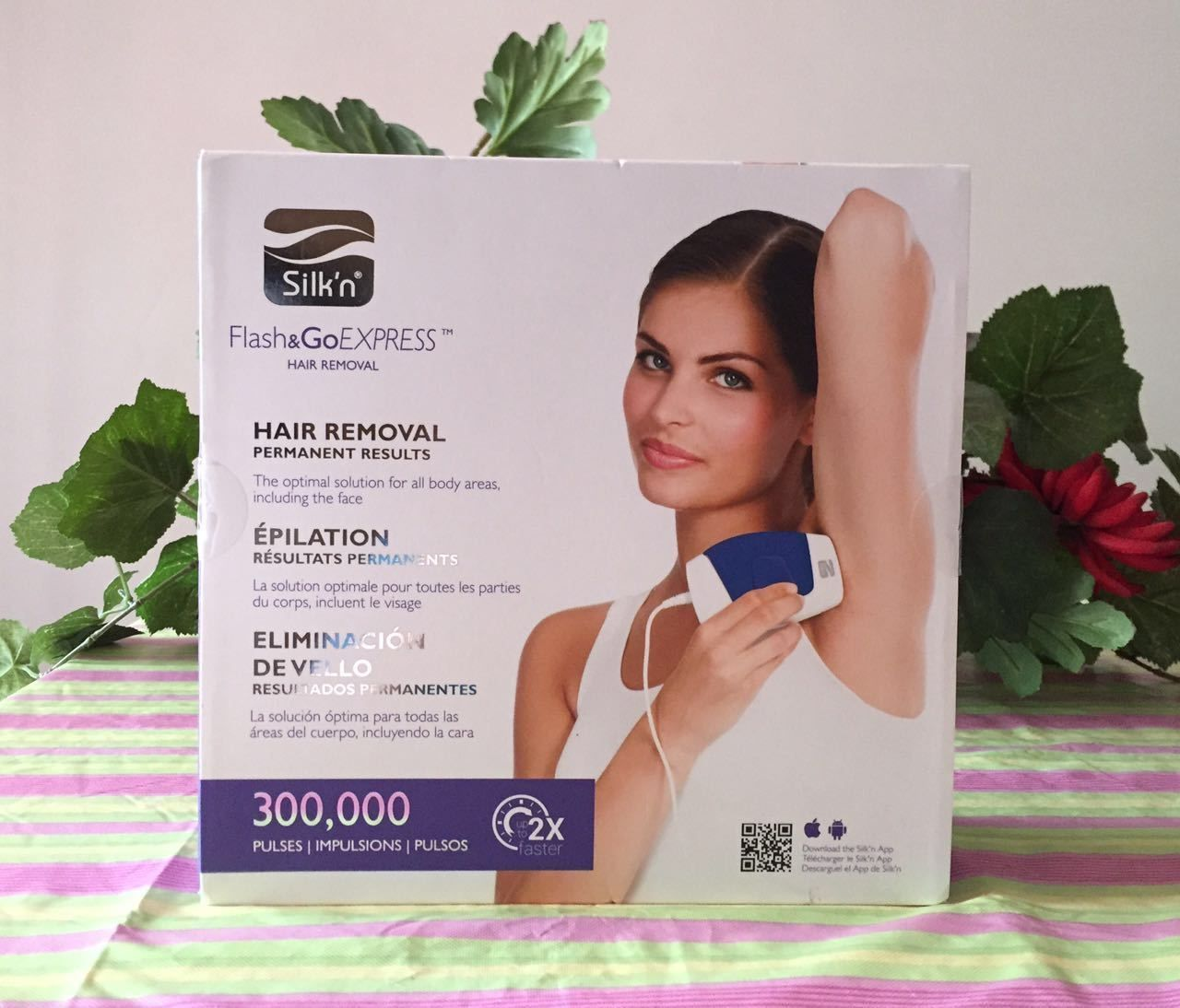 Laser Hair Removal and IPL New Silk N Flash And Go Express Hair
