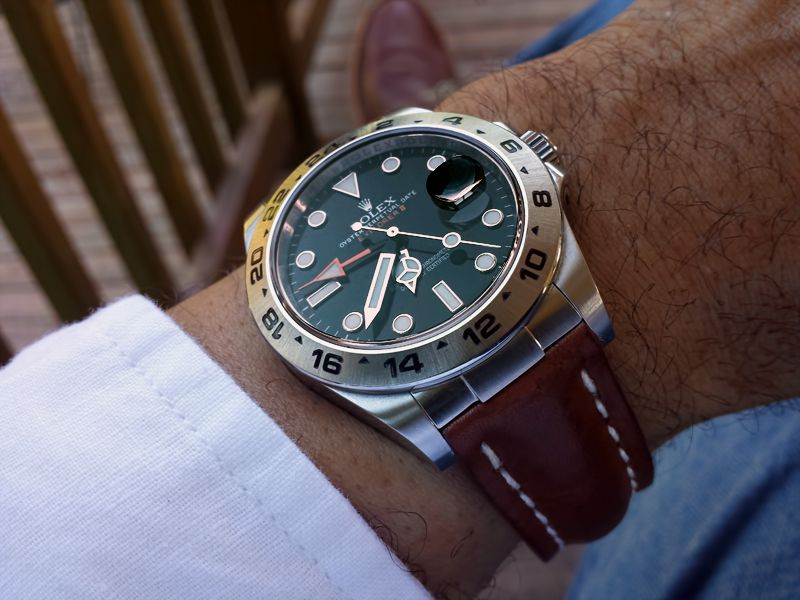 Custom Explorer Ii Strap Yes Or No Page 2 Rolex