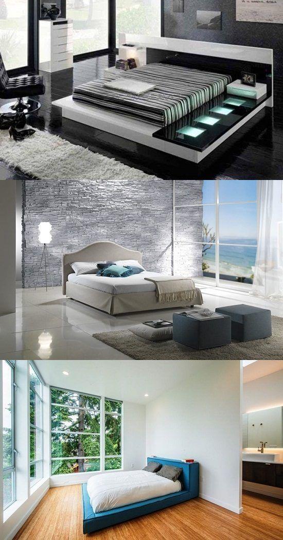 Minimalist Hotel Room: Fantastic Minimalist Modern Bedrooms Decoration (With