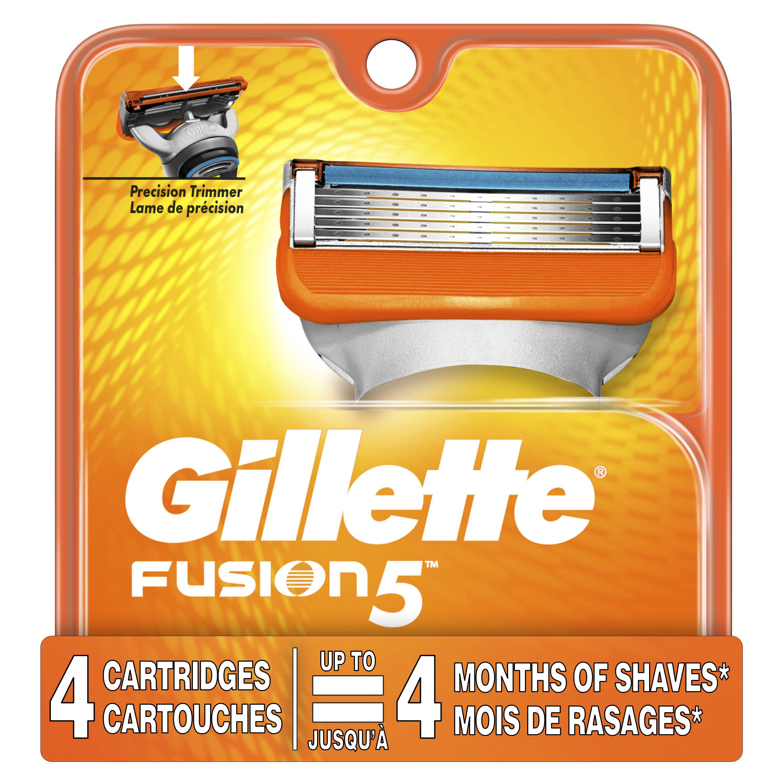 Gillette fusion5 mens razor blades 4 blade refills 1