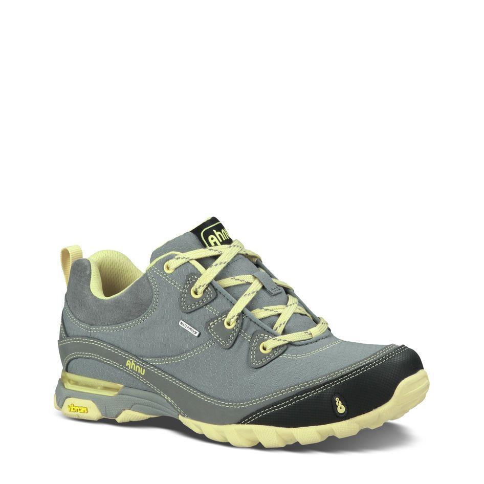 Sugarpine Ahnu Waterproof Hiking Shoe Mine Leather Sneakers Women Boots Hiking Boots