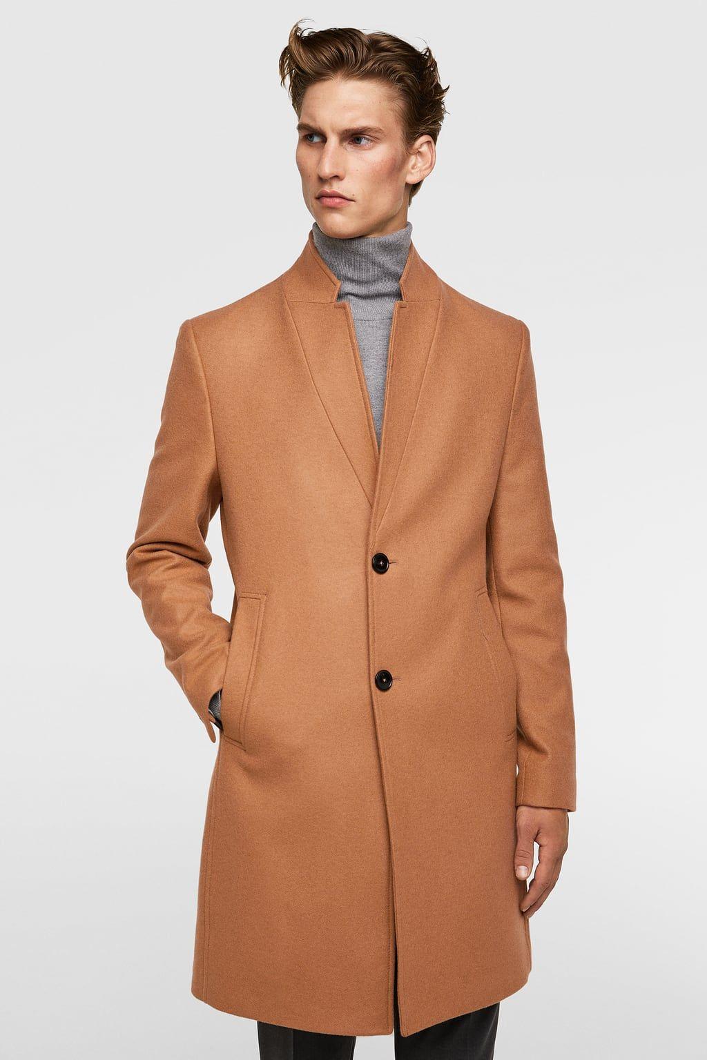 0ae30c315d LAPEL COAT - Item available in more colors | NY Trip | Coat, Men's ...