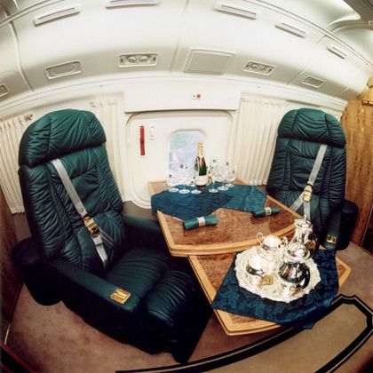 Mi-8MTV-1 Russian Presidential Helicopter Interior