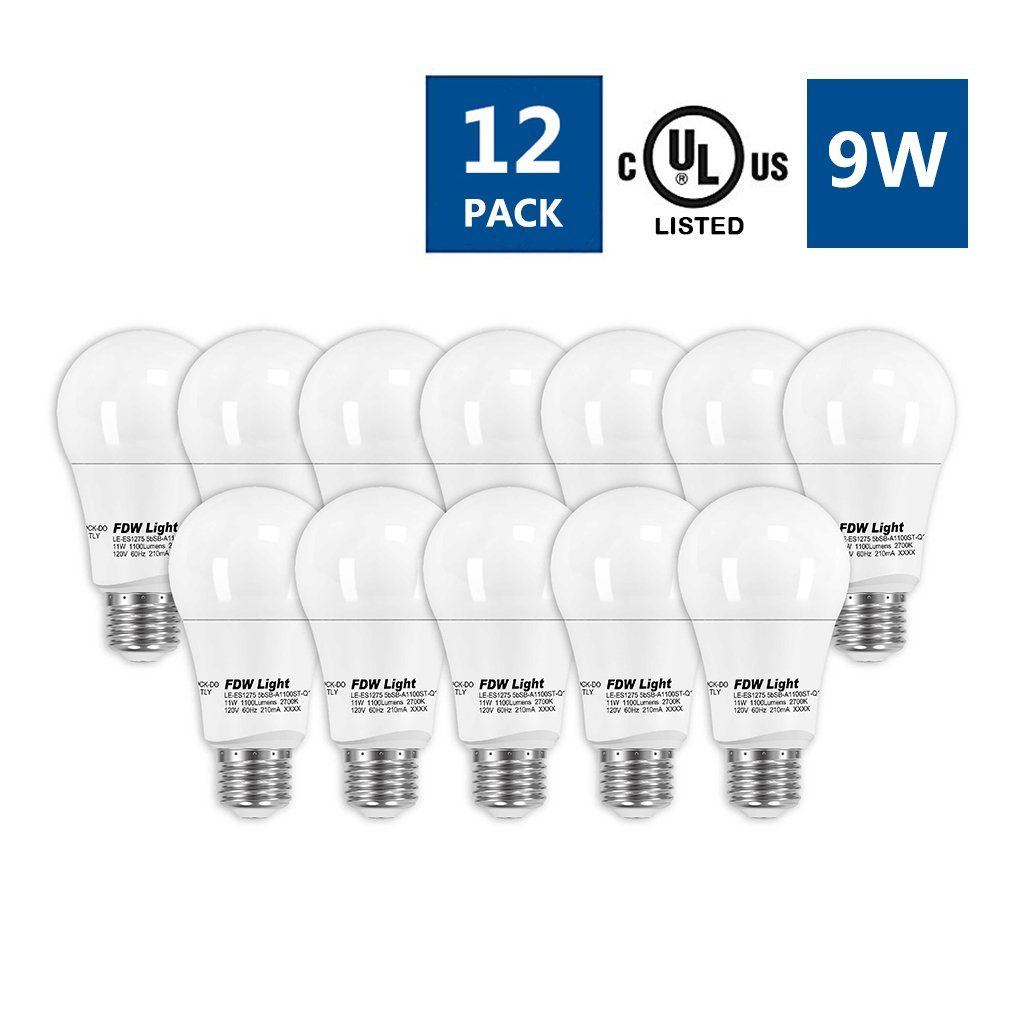 Led Light Bulbs Nondimmablee26 Base9watt 60watt Equivalenta193000kelvin Soft Warm White750lm12 Pack Need To Know A Lot More Cl Light Bulbs Bulb Light Bulb