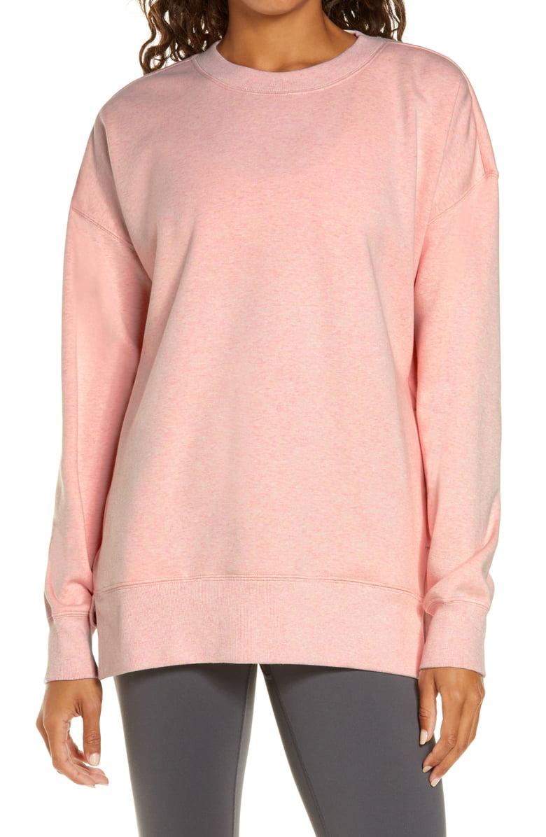 Zella Amazing Crewneck Sweatshirt Nordstrom Crew Neck Sweatshirt Sweatshirts Women Hoodies Sweatshirts [ 1196 x 780 Pixel ]