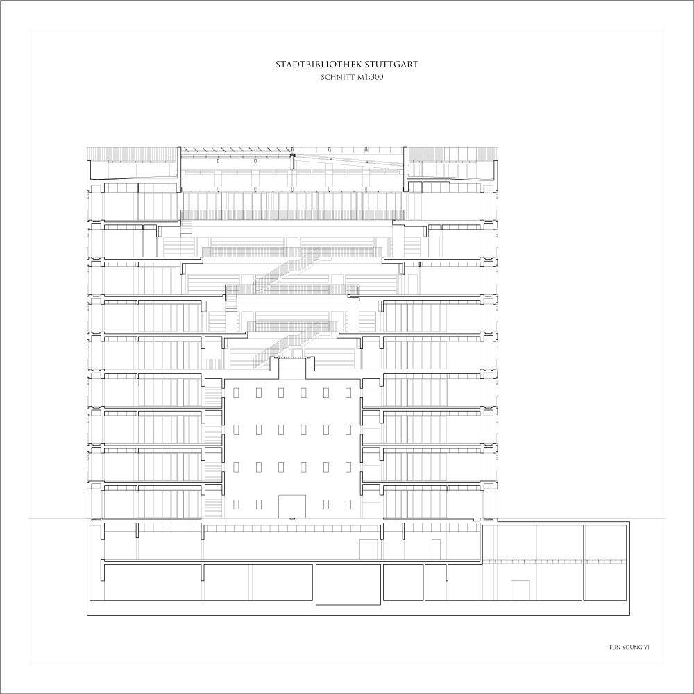 Architects Stuttgart stuttgart city library yi architects city library architects