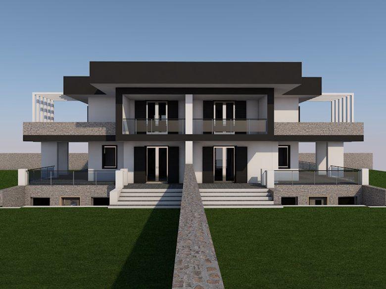 Progetto Villa Bifamiliare Picture Gallery Lavori Dello Studio
