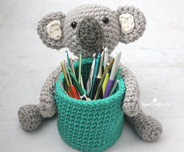 Free Amigurumi Koala Pattern : Super cute crochet bears pandas and frogs u free amigurumi patterns