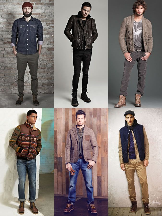 Men s Winter Appropriate Footwear Guide  The Worker Boot Lookbook  Inspiration 245561dab