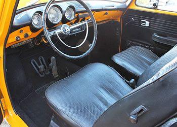 1971 VW Squareback Interior