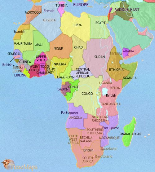 History map of africa 1960ad around the world pinterest africa history map of africa 1960ad gumiabroncs Images