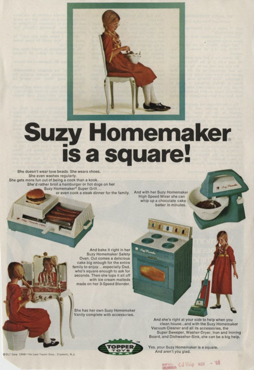 Suzy Homemaker A Slice Of Life From The 1960s Homemaking