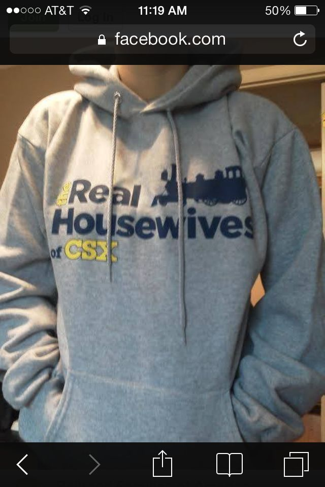 Need this but for KCS!!! Railroad wife hoodie.