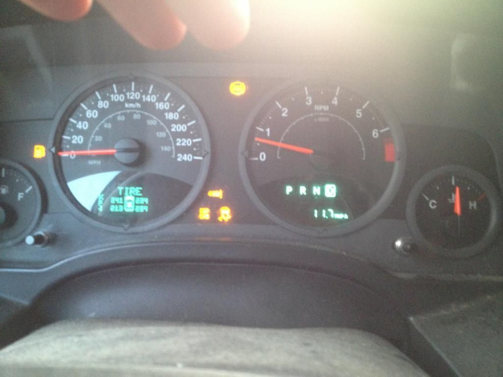 Best Jeep Patriot Dash Lights