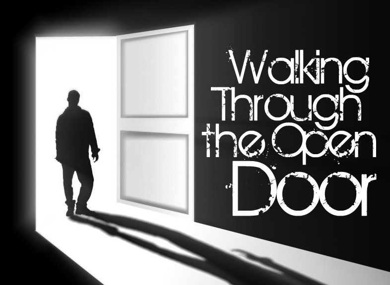 Walking through open doors...God opens doors that no man can close. Believe  that! #opportunity | Greatful, Doors, Opportunity