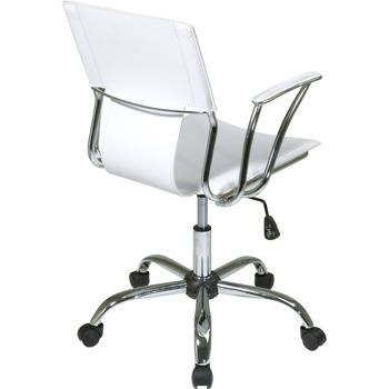 Dorado Office Chair With Images White Desk Chair Osp Home