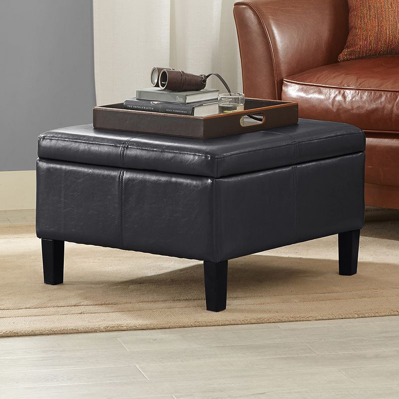 Pleasing Madison Park Raymond Square Storage Ottoman Products Ncnpc Chair Design For Home Ncnpcorg