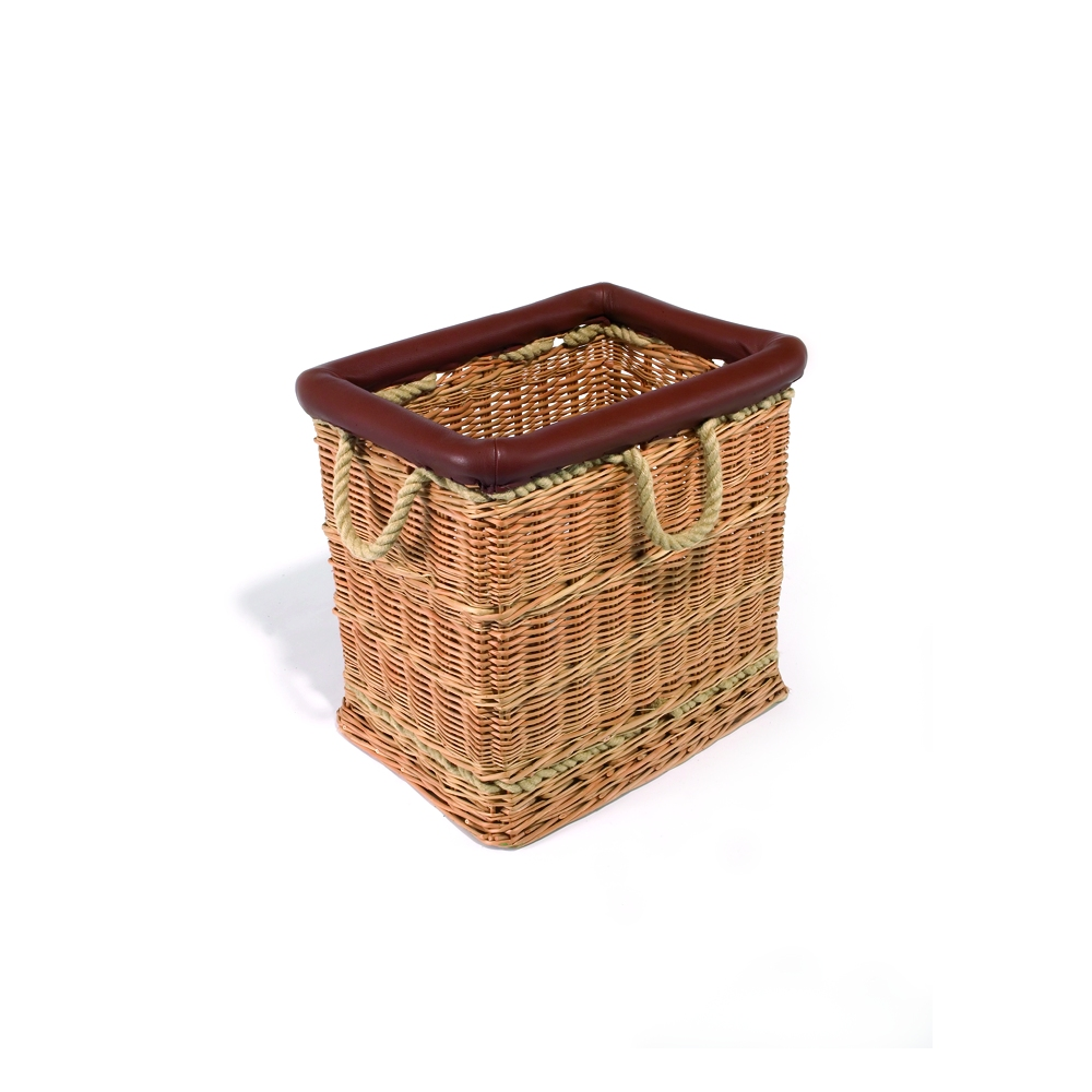 discover the mulberry home log basket natural small 51x54x42cm