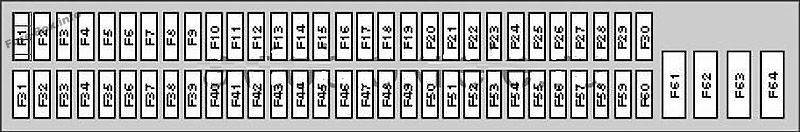 fuse box diagram (glove compartment): bmw x5 (2000, 2001, 2002 ... 2005 bmw x5 fuse box diagram  pinterest