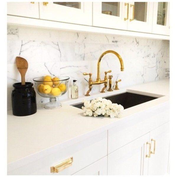 Mission Bin Pull Rejuvenation In 2021 Kitchen Marble Gold Kitchen Faucet Gold Kitchen Hardware
