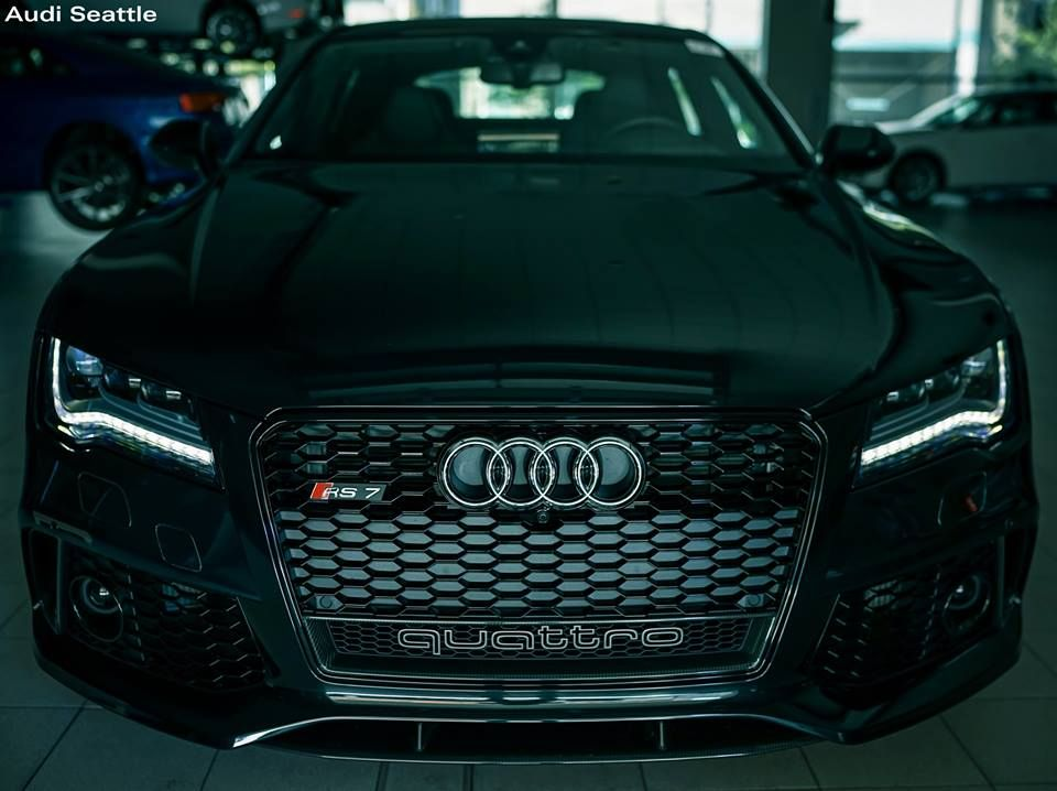Sometimes there are no monsters under the bed, they're in the garage - Audi RS 7 Sportback