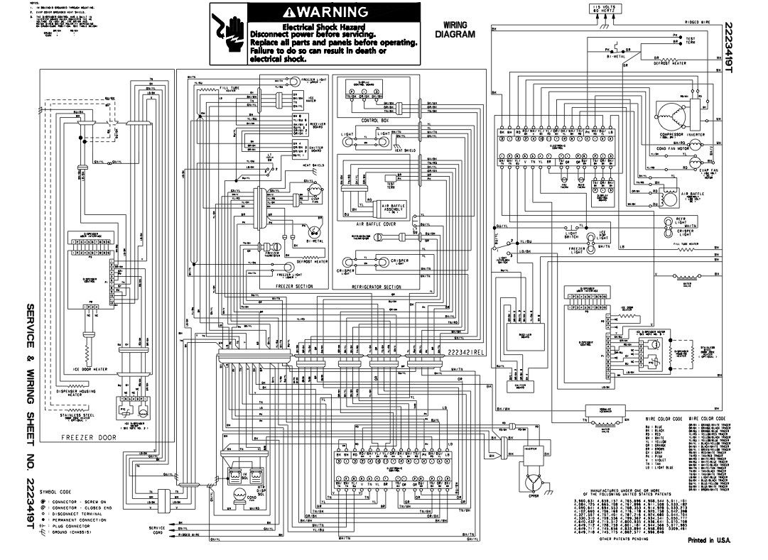 kitchenaid refrigerator wiring diagram b2network co inside mixer like [ 1081 x 789 Pixel ]