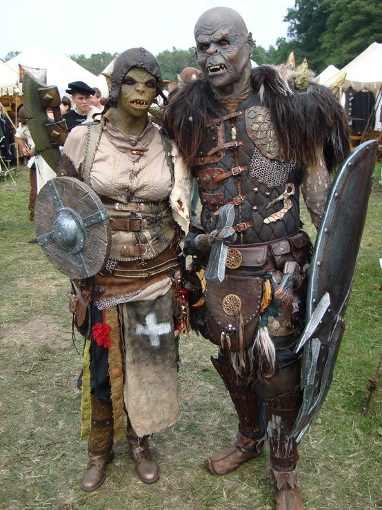 Orcs at Mythodia LARP in Germany | LARP in 2019 | Cosplay