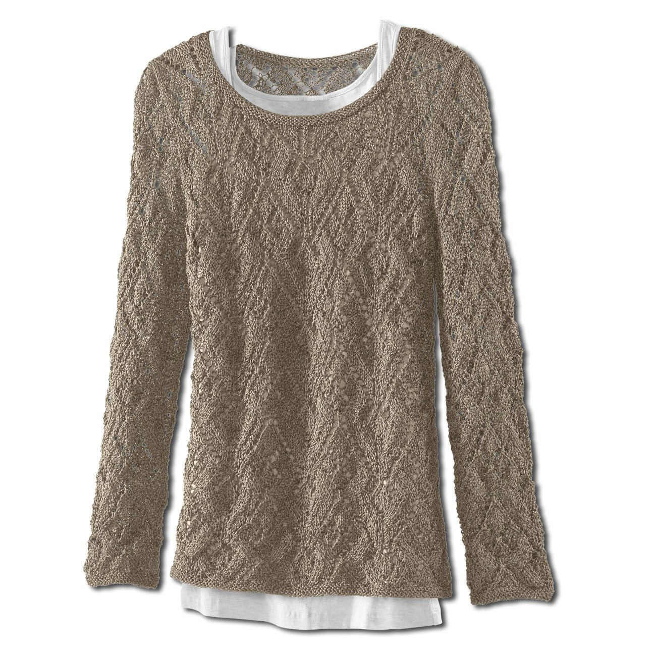 Модель 267/3, Женские свитера в Ajourmuster из Трокадеро Junghans ...