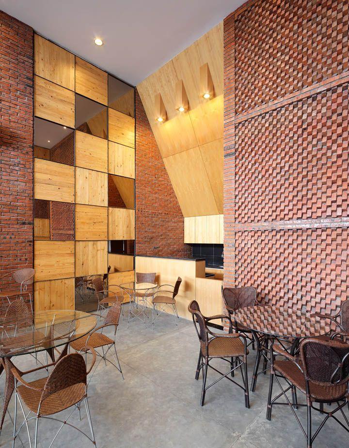 Yamakawa rattan showroom by sidharta architect jakarta store design brick