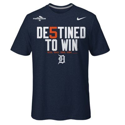 Nike Detroit Tigers 2013 MLB Playoffs Destined to Win ...