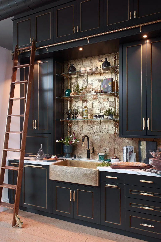 A Pasadena Loft Apartment Kitchen Gets a New Look