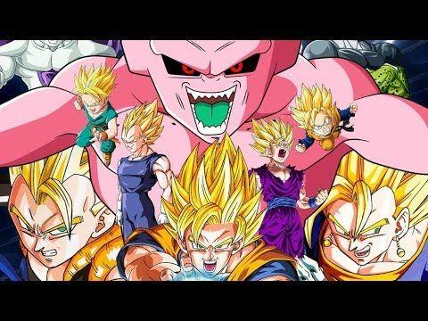 7 viên ngọc rồng siêu cấp | Super Buu vs Mystic Gohan, Gotenks và Ve.
