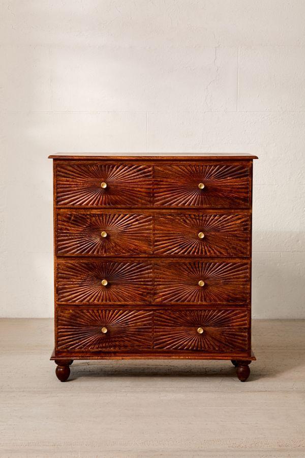 Best Sunburst 4 Drawer Dresser Dresser Drawers 4 Drawer 640 x 480