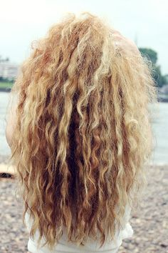 Wavy Crimped Hair Tumblr