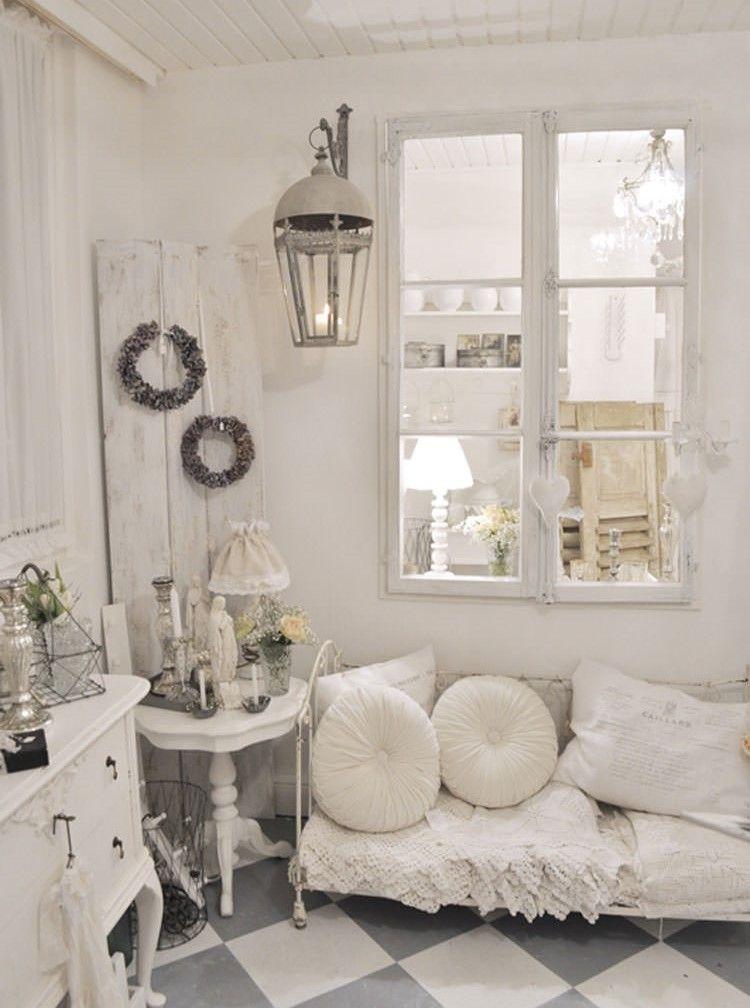 Soggiorno in stile Shabby Chic: Vissuto e romantico! 10 idee per ...