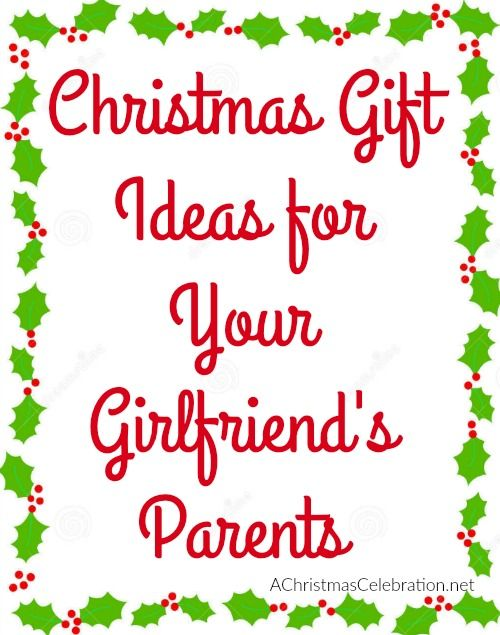 christmas gifts for your girlfriends or even boyfriends parents - Christmas Gifts For Boyfriends Parents