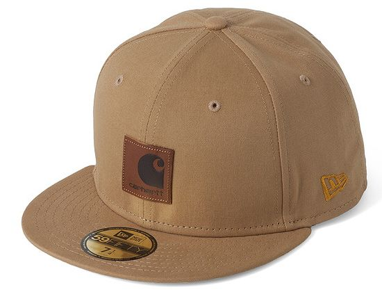 df557e8726367 CARHARTT x NEW ERA「Brace」59Fifty Fitted Baseball Cap