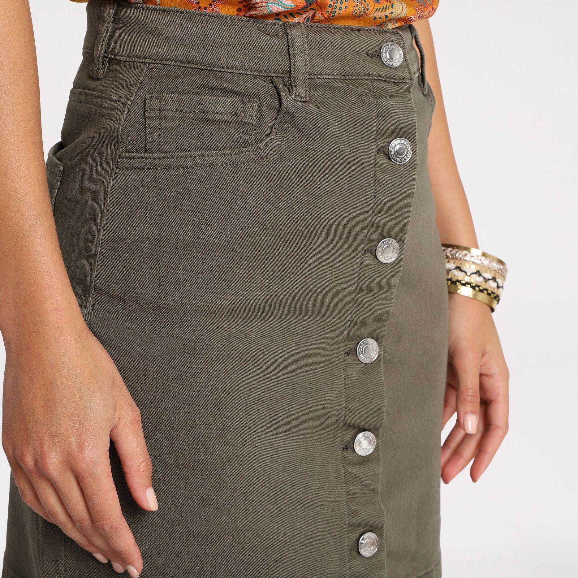Mini-jupe laine Jupe Femmes Look Boho glockenrock A-ligne