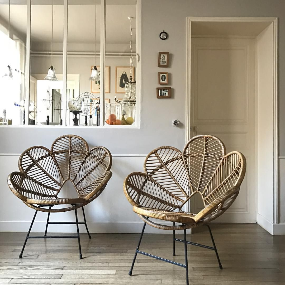 Ratan Sessel Those Chairs Home Decor Living Room Pinterest Möbel