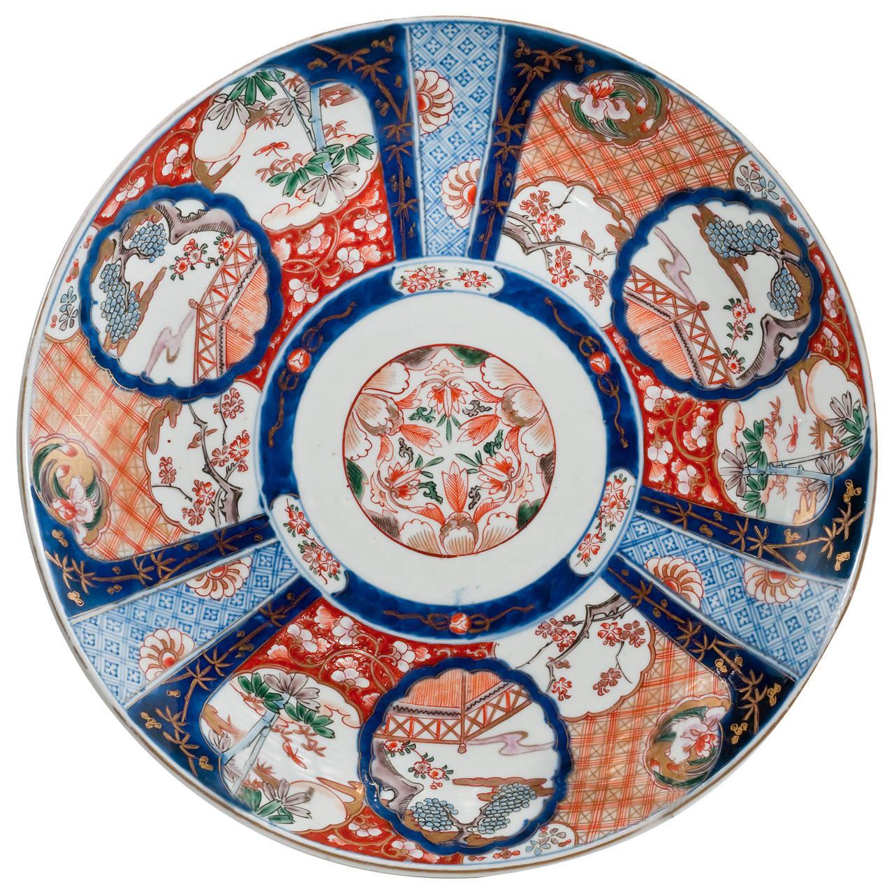 Late 19th century japanese imari charger modern ceramics art japanese pottery reviewsmspy