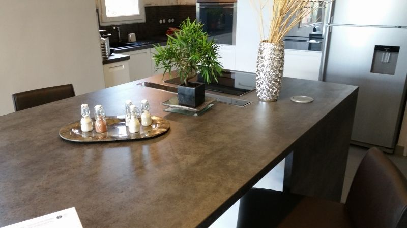 Plan De Travail Ceramique Iron Grey Plan De Travail Plan De