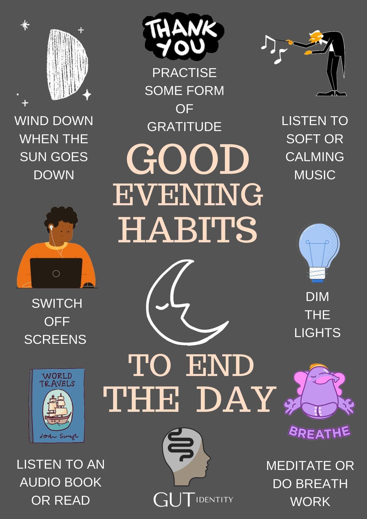 Good Evening Habits