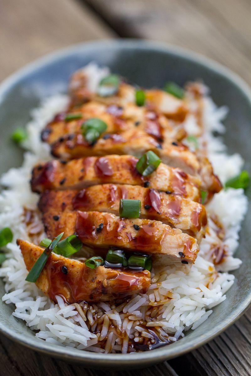 Traeger Chicken Teriyaki | Recipe in 2020 | Grilled ...