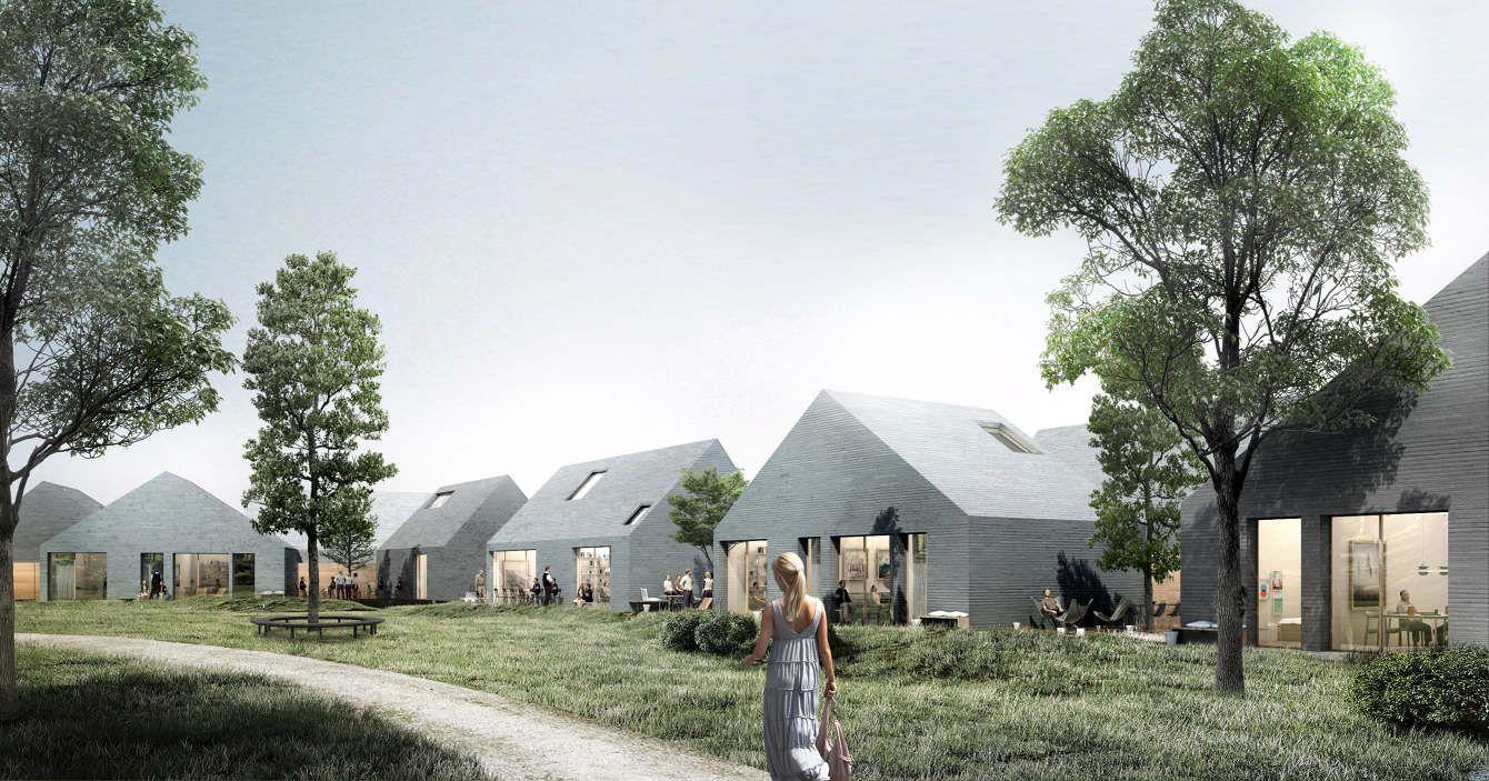 ÅHUSENE IN HELSINGØR, DENMARK we architecture